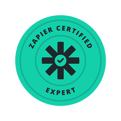 Zapier expert label