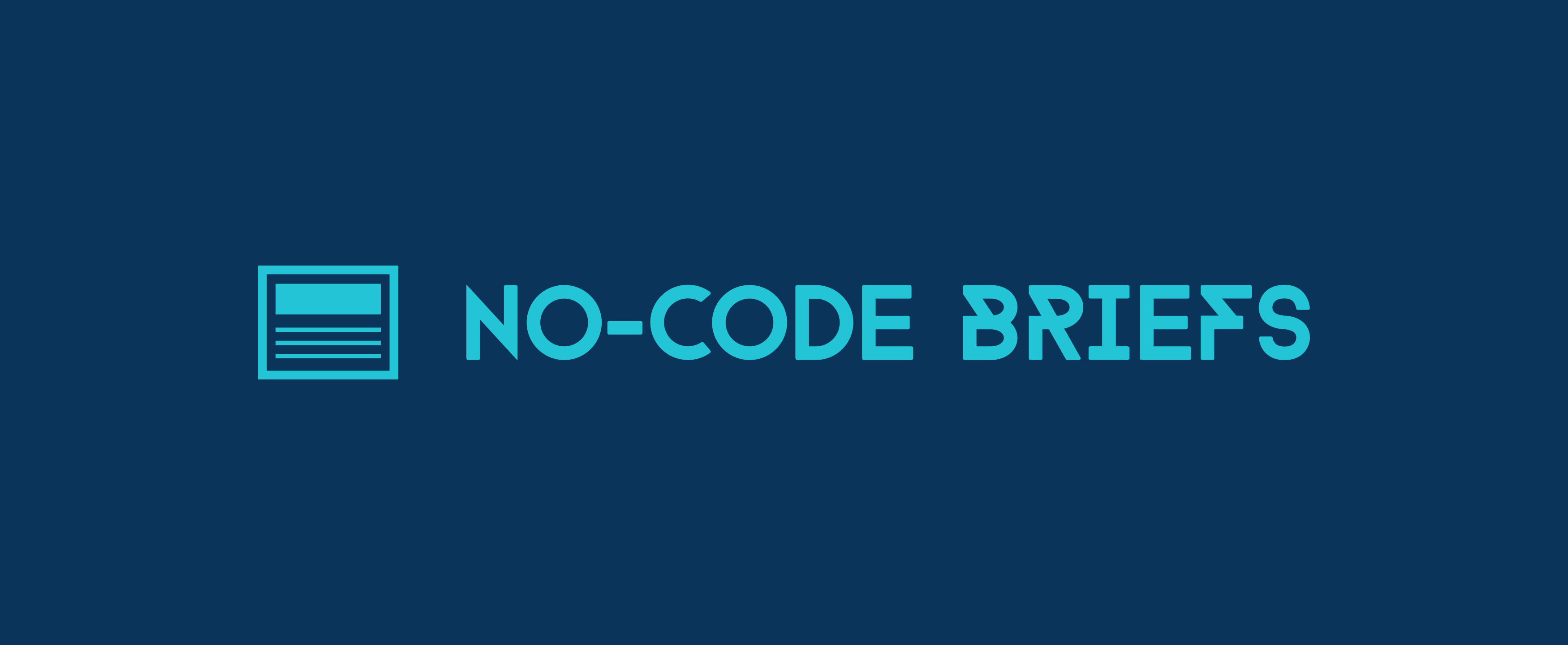 No-Code Briefs Logo